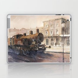 An old locomotive Laptop & iPad Skin