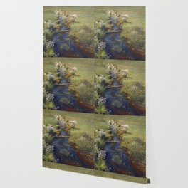 Dennis Miller Bunker - Wild Asters Wallpaper