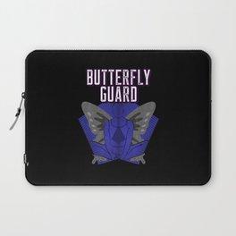 Butterfly Guard Jiu-Jitsu Person Laptop Sleeve