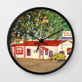 Craig's BBQ, DeValls Bluff, AR Wall Clock