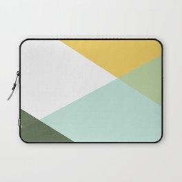 Geometrics - citrus & concrete Laptop Sleeve
