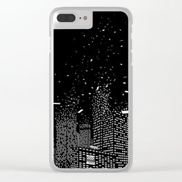 So Long, Old World Clear iPhone Case