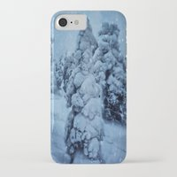 finland iPhone & iPod Cases featuring Winter in Lapland, Finland by Guna Andersone & Mario Raats - G&M Studi