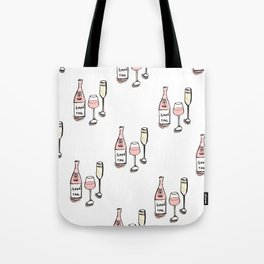 PATTERN II Rosé & Sparkling Wine Tote Bag