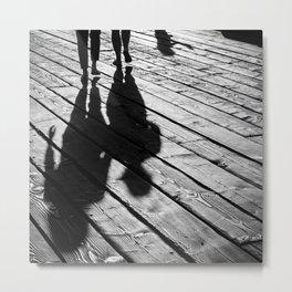 Shadows Metal Print