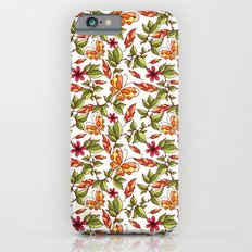 Butterflies on the leaves Slim Case iPhone 6s