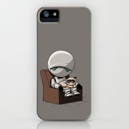 Marvin Grumpy iPhone Case