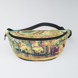Carousel Merry-Go-Round Fanny Pack