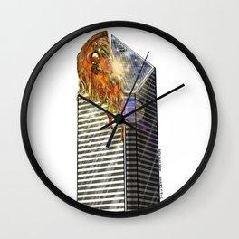 DEEP DEEP DISH Wall Clock