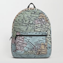 old map of Europe Backpack
