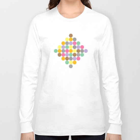 Candy Rounds White (Coal available too) Long Sleeve T-shirt