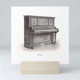 Kimball Piano 15 Mini Art Print