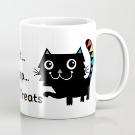 Eat, Sleep, Kitty Treats  Coffee Mug