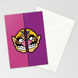 Old & New Wario Stationery Cards