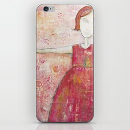 Meet life with arms wide open iPhone Skin
