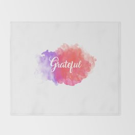 Grateful Throw Blanket