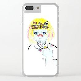 Haruka Kurebayashi Clear iPhone Case