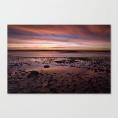 November dawn. Wells-next-the-sea, Norfolk, UK. Canvas Print