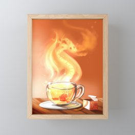 Teadragon Framed Mini Art Print