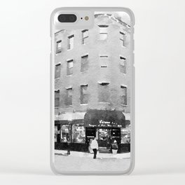 North End Corner Clear iPhone Case