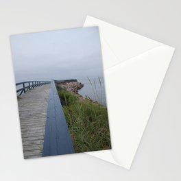 Boardwalk to sea Stationery Cards