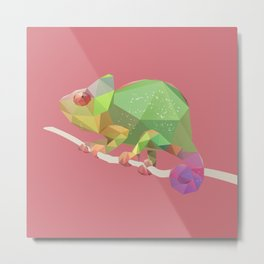 Chameleon. Metal Print