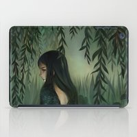 siren iPad Cases featuring Siren by Olivia Chin Mueller
