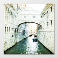 The Bridge of Sighs - Venice Canvas Print