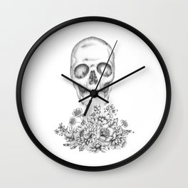 The Birth of  Death Wall Clock