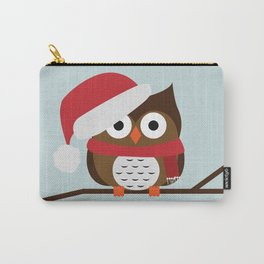Christmas Owl Carry-All Pouch