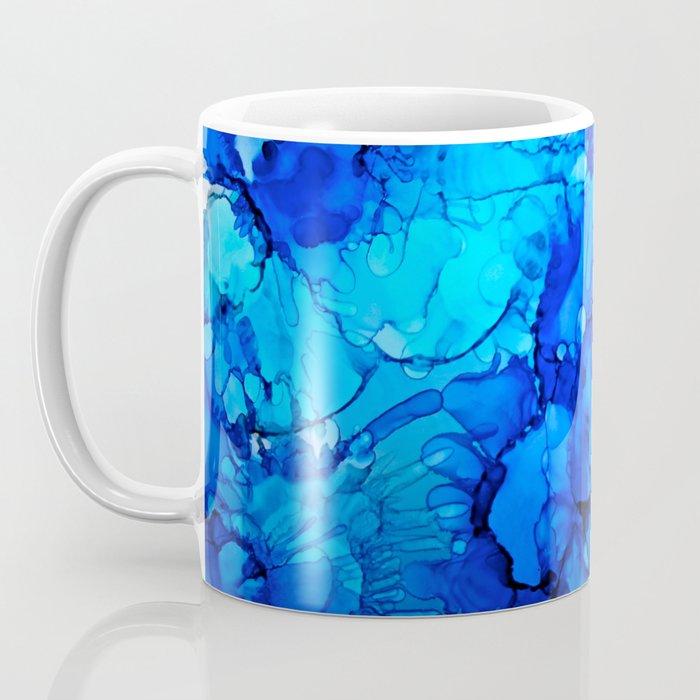 Blue Petunias Coffee Mug