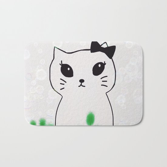 cat-438 Bath Mat