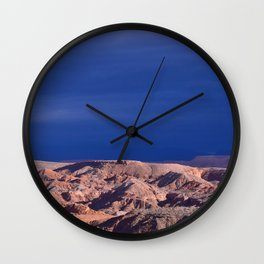 Desert Storm's Abrew'n Wall Clock