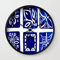 morocco Wall Clocks featuring Morocco by Patti Friday