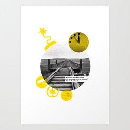 You Can Quote Me - Chuck Palahnuik Art Print