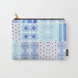 Amalfi Coast Tiles Carry-All Pouch
