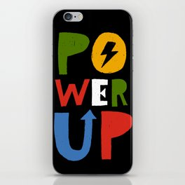 Power Up iPhone Skin