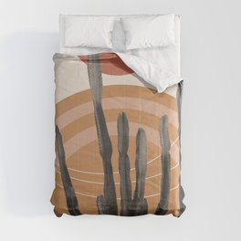 Cactus in the Desert #1 #tropical #wall #art #society6 Comforters