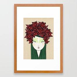 The butterfly Framed Art Print