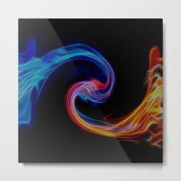 Fire to Ice 2 Metal Print