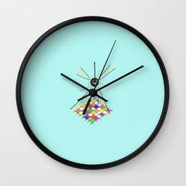 go gina Wall Clock