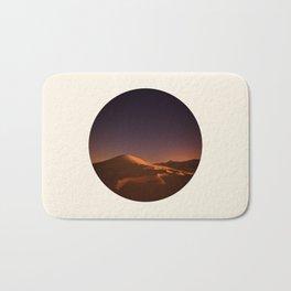 Desert Sunset & Stars In The Sky Bath Mat