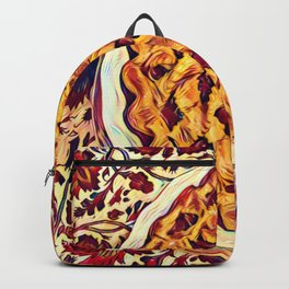 Coffee & Cherry Pie, Food For Thought Backpack