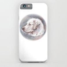Golden Retriever Dog Drawing Slim Case iPhone 6s