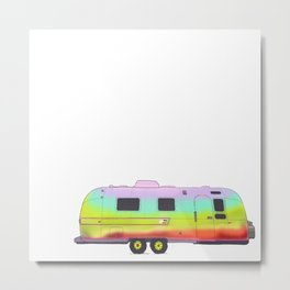 Vintage Airstream Metal Print