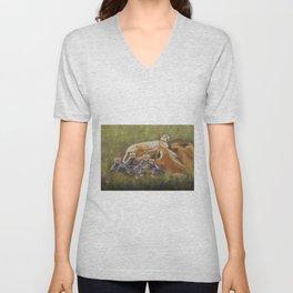 Cheetahs Unisex V-Neck