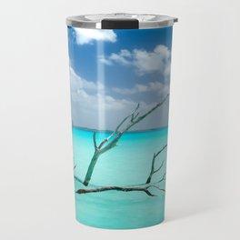 Driftwood in Lagoon Travel Mug