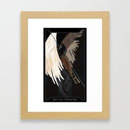 Garrus Vakarian Companion Card Framed Art Print