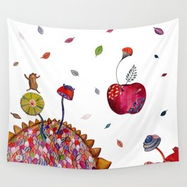 Welcome Autumn Wall Tapestry