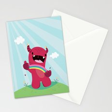 Nature monster Stationery Cards